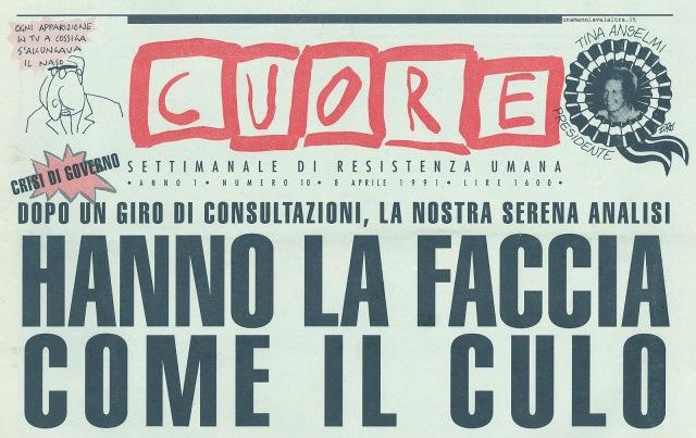 hanno_la_faccia_come_il_culo_-_copertina_il_cuore_8_aprile_1991